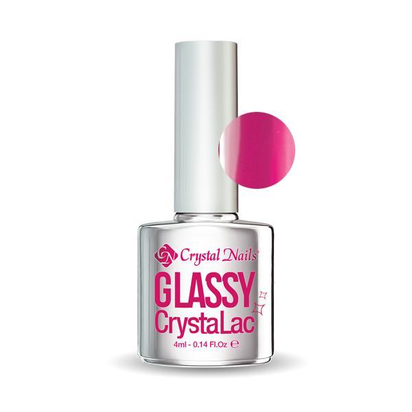 Glassy CrystaLac - Neon Pink (4ml)