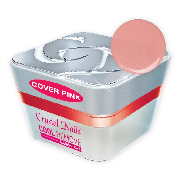 Cool (Remove) Builder Gel Cover Pink - 15ml