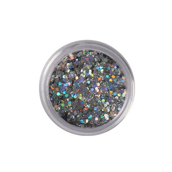 Csillámpor nagyszemcsés 45. - fine silver