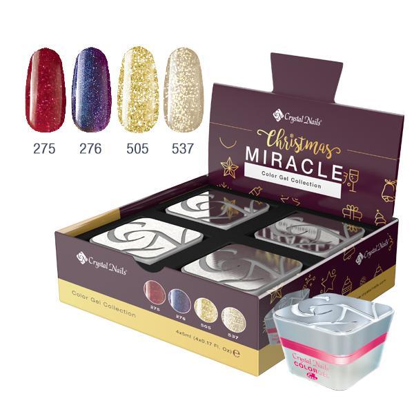 Christmas Miracle színes zselé készlet (4x5ml)