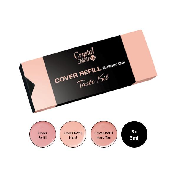 Cover Refill Builder Gel Taste kit