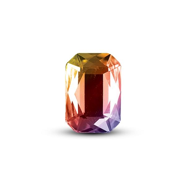 CRYSTALLIZED™ - Swarovski Elements - 001AB (Crystal Aurora Borealis) Szögletes