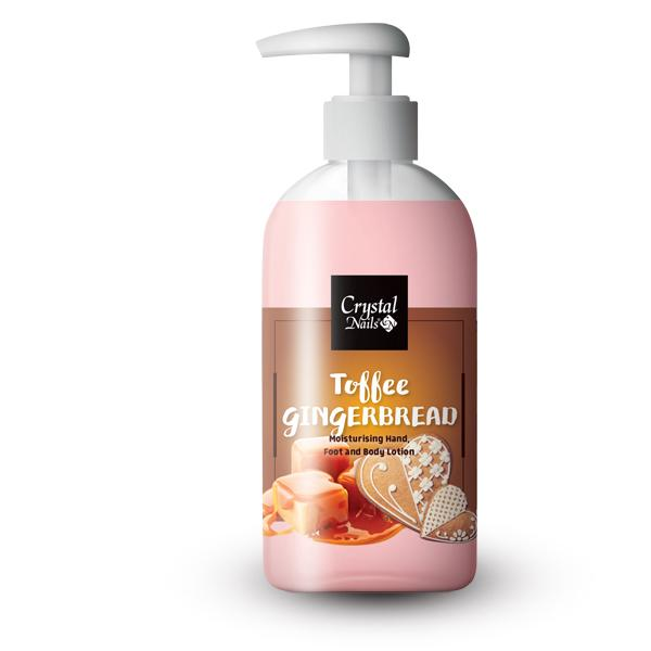 Moisturising Hand, Foot and Body Lotion - Toffee Gingerbread Lotion 250ml - Limitált!
