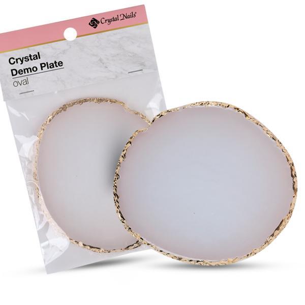 Crystal Demo Plate - ovális