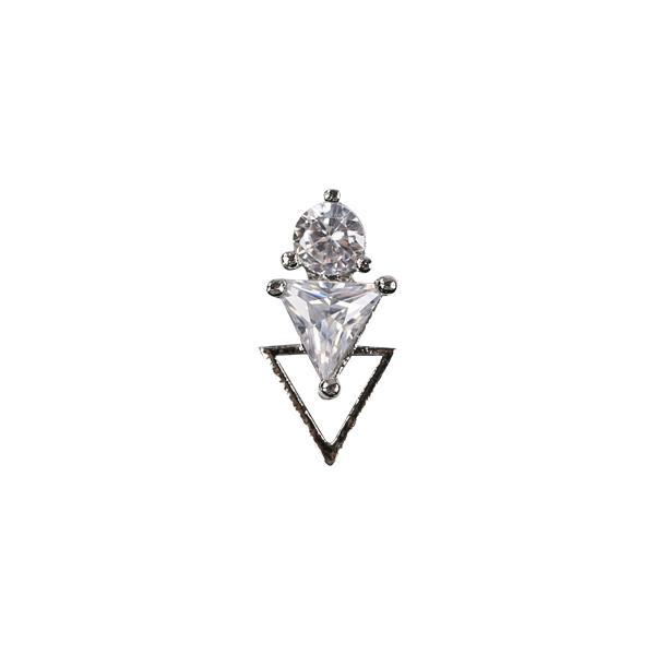 Nail Charm 1 - ezüst