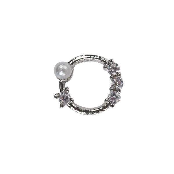 Nail Charm 2 - ezüst