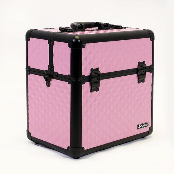 Nagy Fémbőrönd - Baby Pink