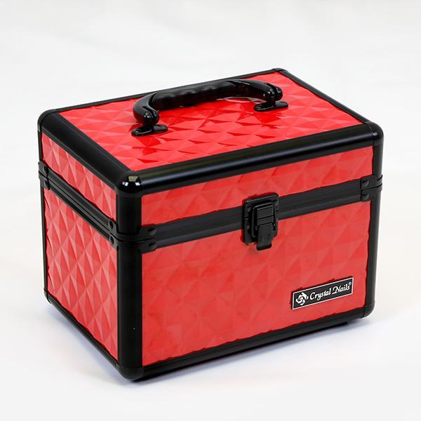 Kicsi Fémbőrönd - Hot Red