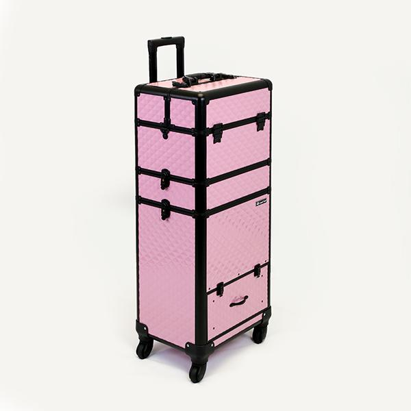 Óriás Fémbőrönd - Baby Pink