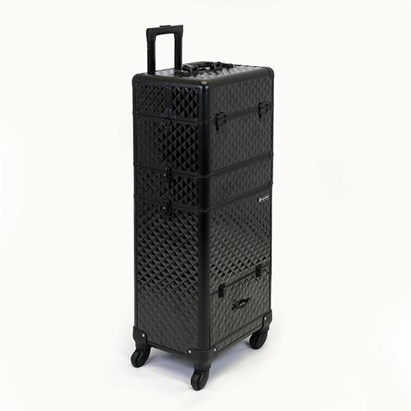 Óriás Fémbőrönd - Black