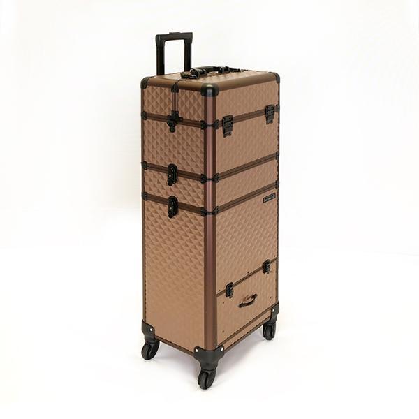 Óriás Fémbőrönd - Bronze