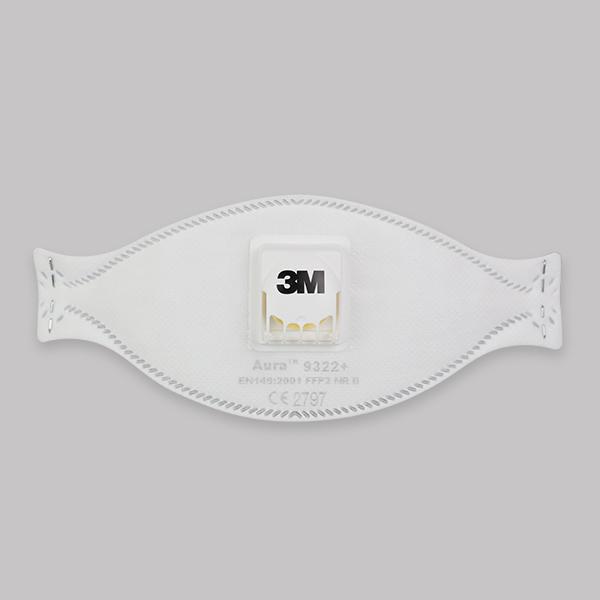 3M Szelepes szájmaszk (FFP2)