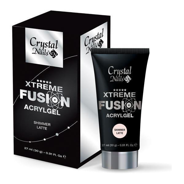 Xtreme Fusion AcrylGel Shimmer Latte - 30g