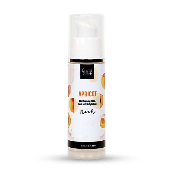 Moisturising Hand, Foot and Body Lotion - Apricot Lotion - Rich 30ml
