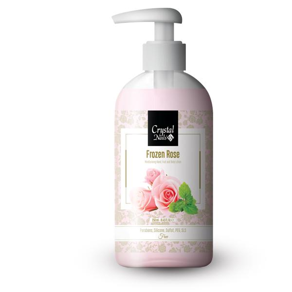 Moisturising Hand, Foot and Body Lotion - Frozen Rose 250ml