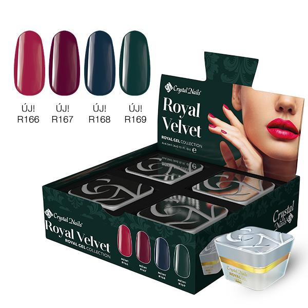 Royal Velvet Royal Gel készlet (4x4,5ml)