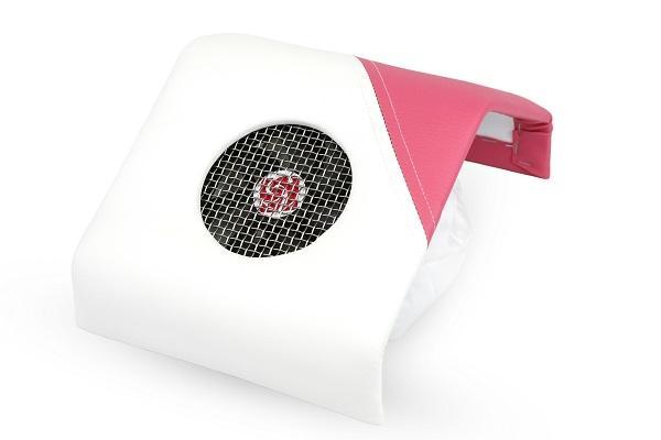 CN Dupla erős asztali porelszívó - Rózsaszín/fehér