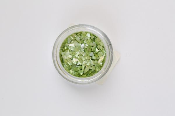 Törtkagyló, nagy - zöld
