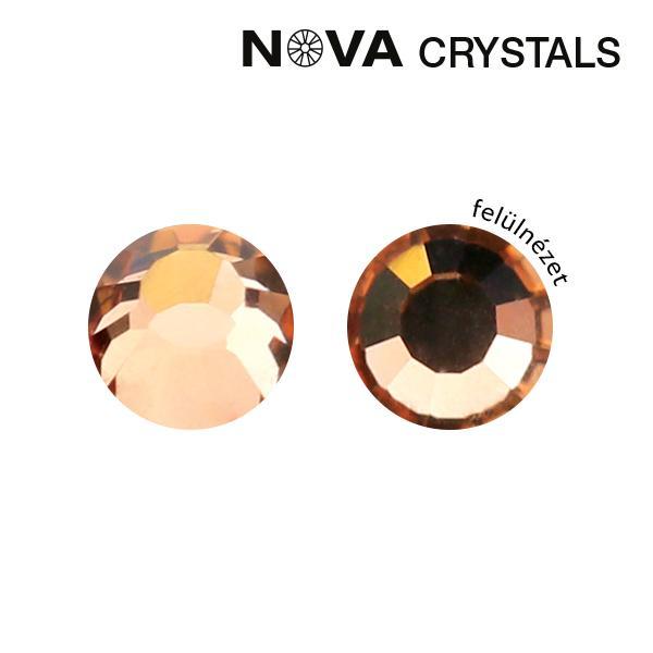 NOVA Crystal Strasszkő - Rosegold SS3 (1,4 mm)