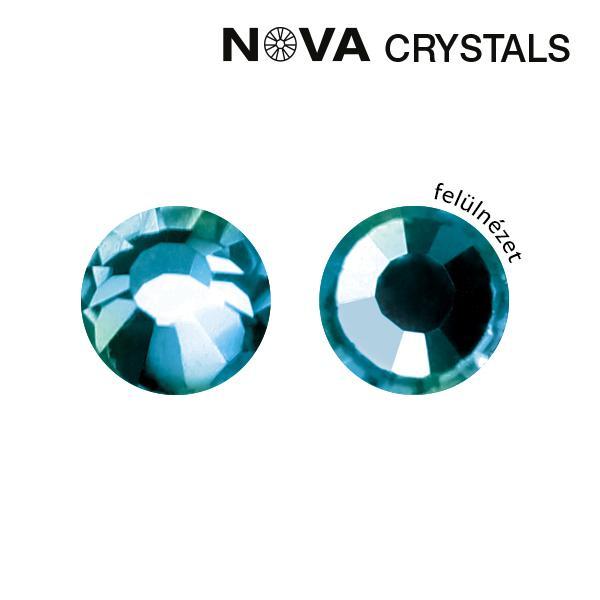 NOVA Crystal Strasszkő - Aquamarine AB SS3 - (1,4 mm)