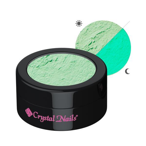 Glow pigmentpor - zöld