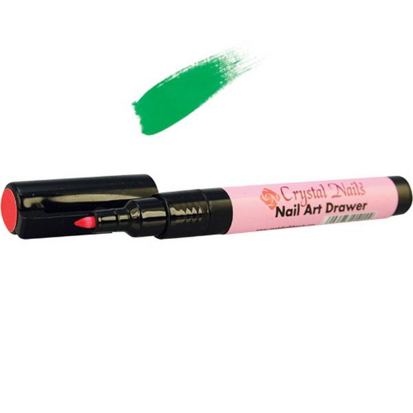 Nail Art Drawer - RAJZOLÓ AKRILCERUZA - zöld