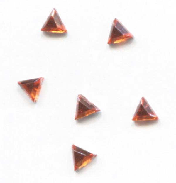 Strassz háromszög narancs 50/cs