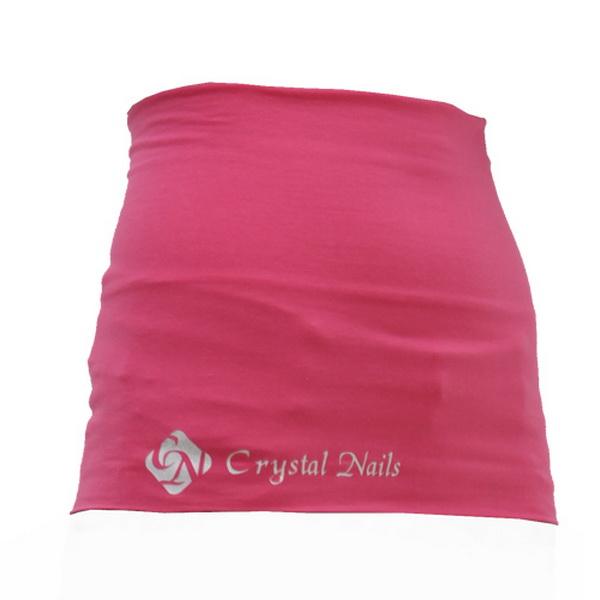 Crystal Nails derékmelegítő, rózsaszín S