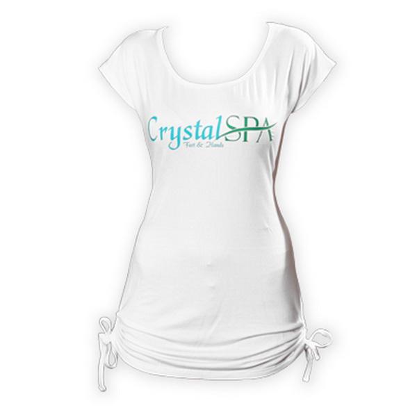 Crystal Spa rövid ujjú póló - L méret