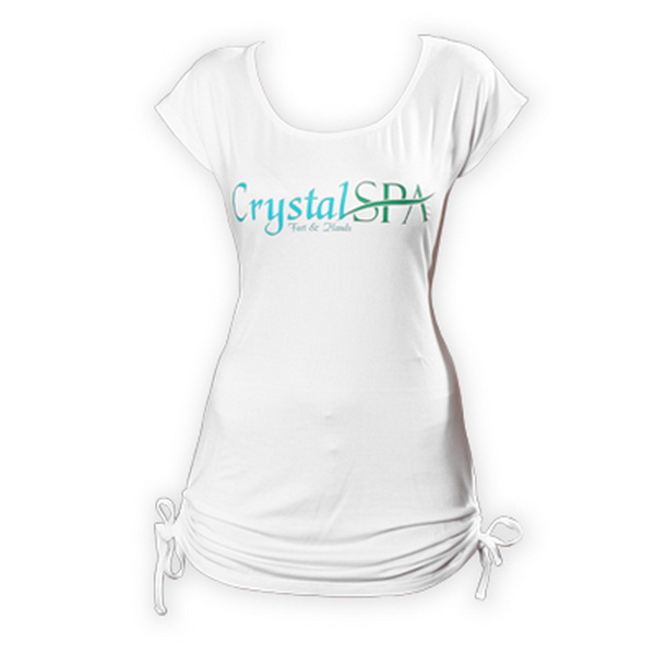 Crystal Spa rövid ujjú póló - S méret