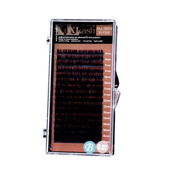 LuxLash 4D Volume All size in One - B íveltségű / 0,07-es pillák