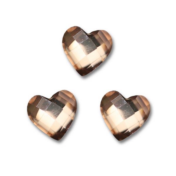 Nagy strassz szív, intarziás (29)