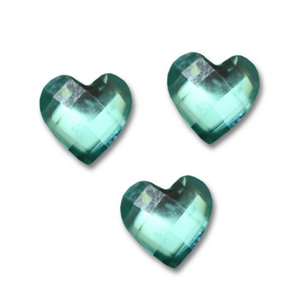 Nagy strassz szív, intarziás (33)