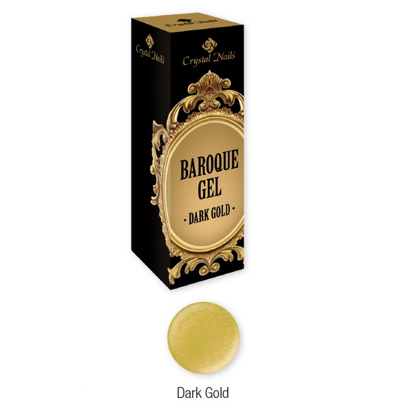 Baroque Gel díszítő zselé - Dark Gold (5ml)