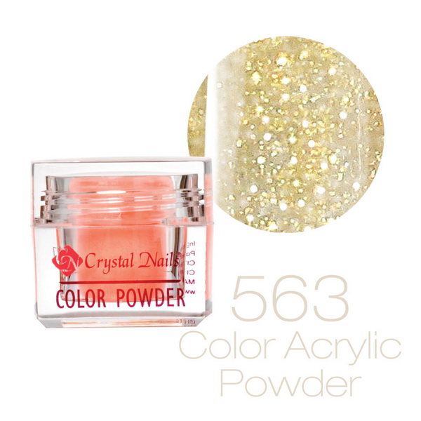 563 CN Színes Sparkling porcelán - 7g