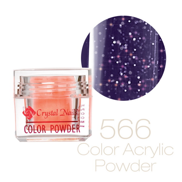 566 CN Színes Sparkling porcelán - 7g
