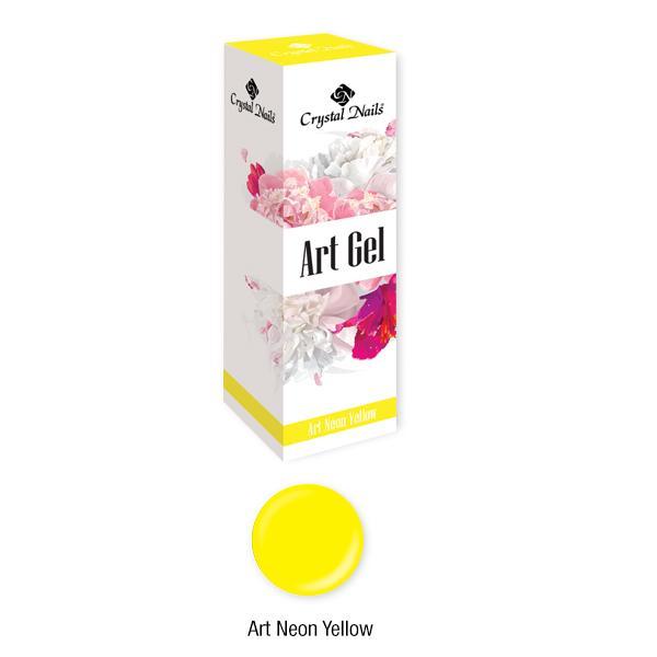 Art Gel sűrű festőzselé - Art Neon Yellow (5ml)