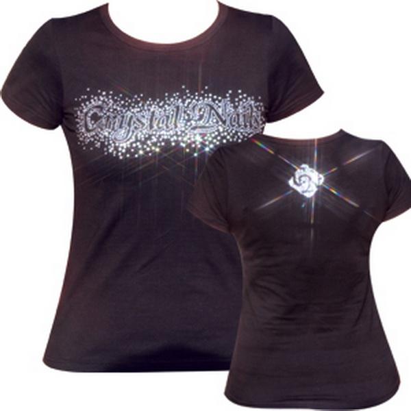 Crystal Nails Exkluzív póló S