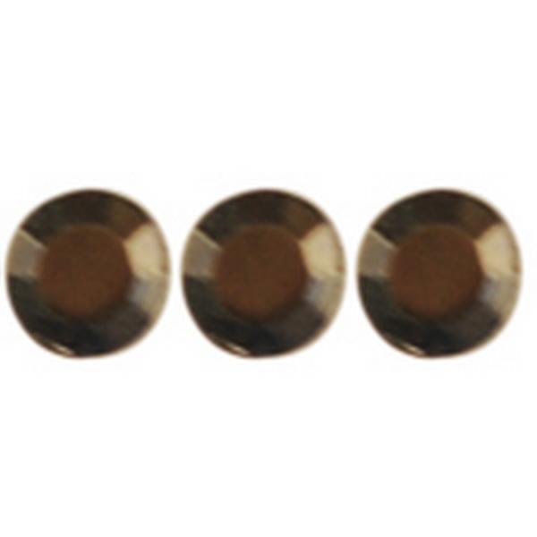 Crystal hajékszer strassz  - füstös gyémánt 96 db