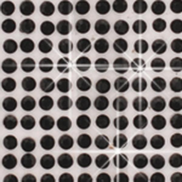 Crystal Sticker dekor fólia - Matt fekete 6x10cm