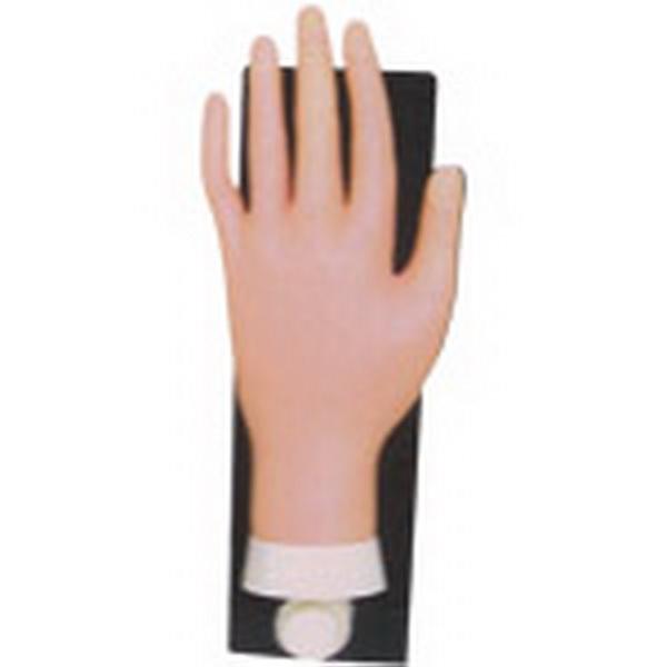 Gyakorló kéz tartó lappal