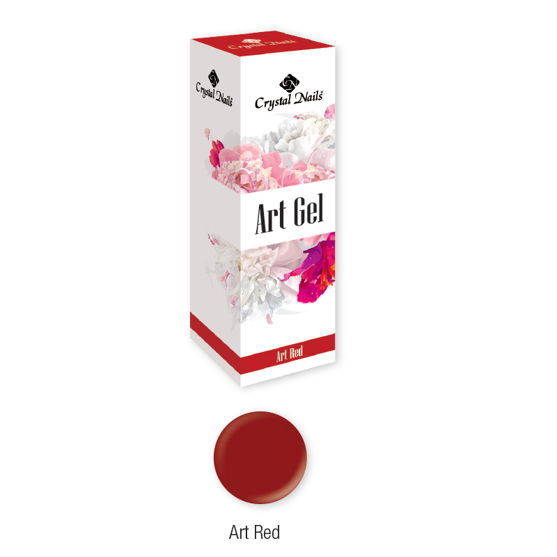 Art Gel festőzselé - Art Red (5ml)