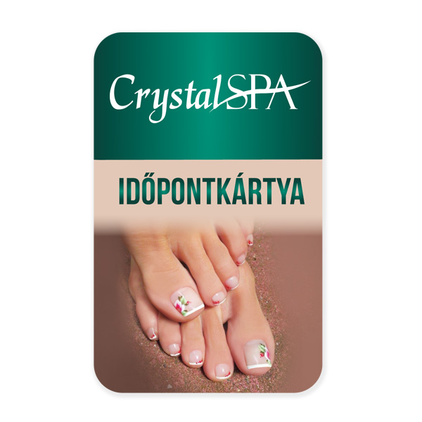 Crystal SPA időpontkártya - #2