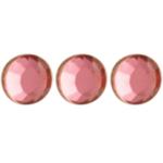 Crystal hajékszer strassz  - rózsaszín 96 db