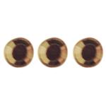 Crystal hajékszer strassz  - sárga 96 db