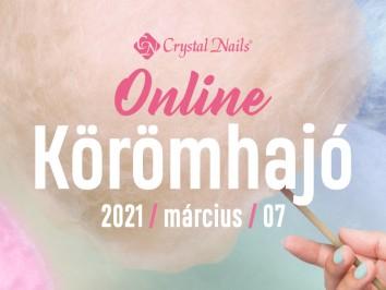 Crystal Nails Körömhajó 2021 Tavasz