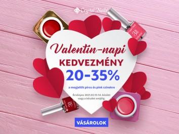 Valentin-napi ajánlat